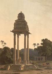 A pavilion, belonging to an Hindoo Temple